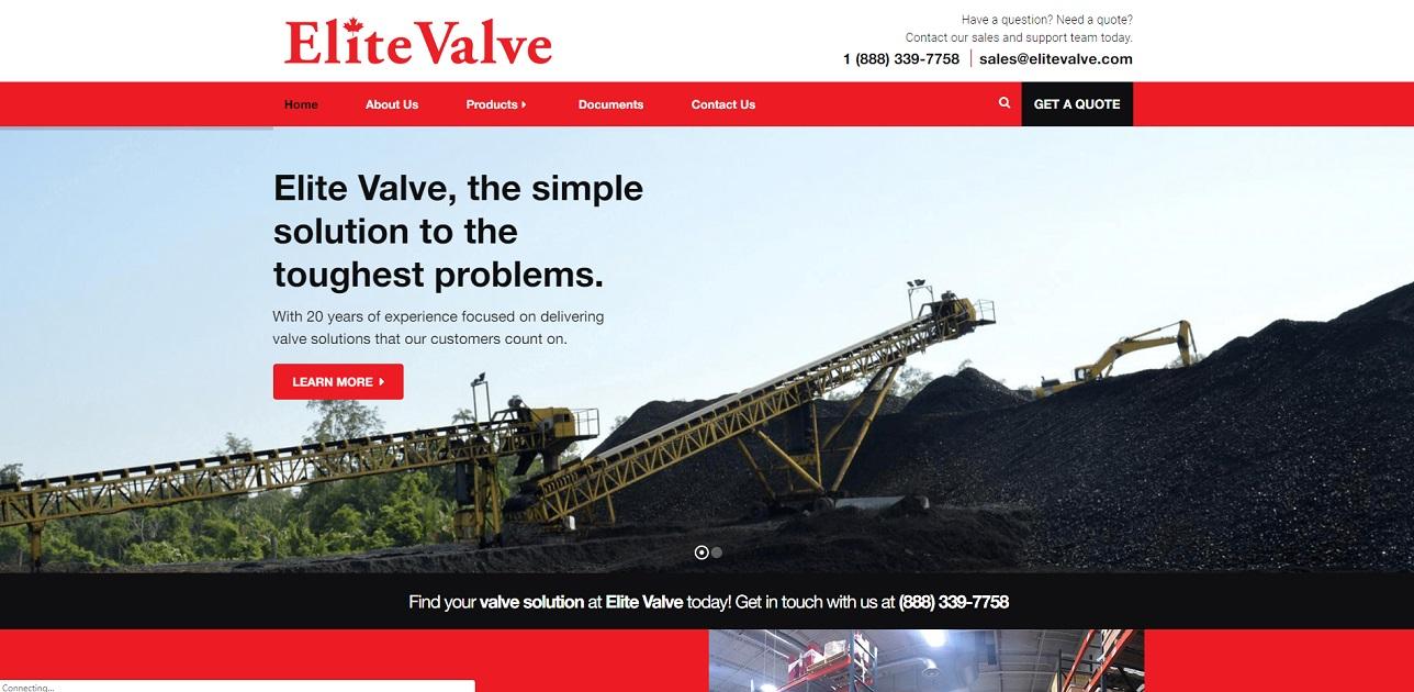 Elite Valve Canada