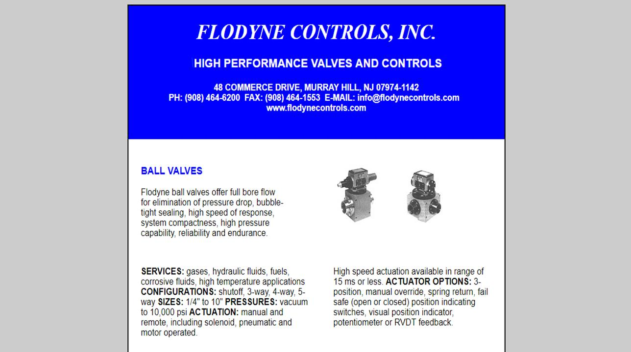 Flodyne Controls, Inc.