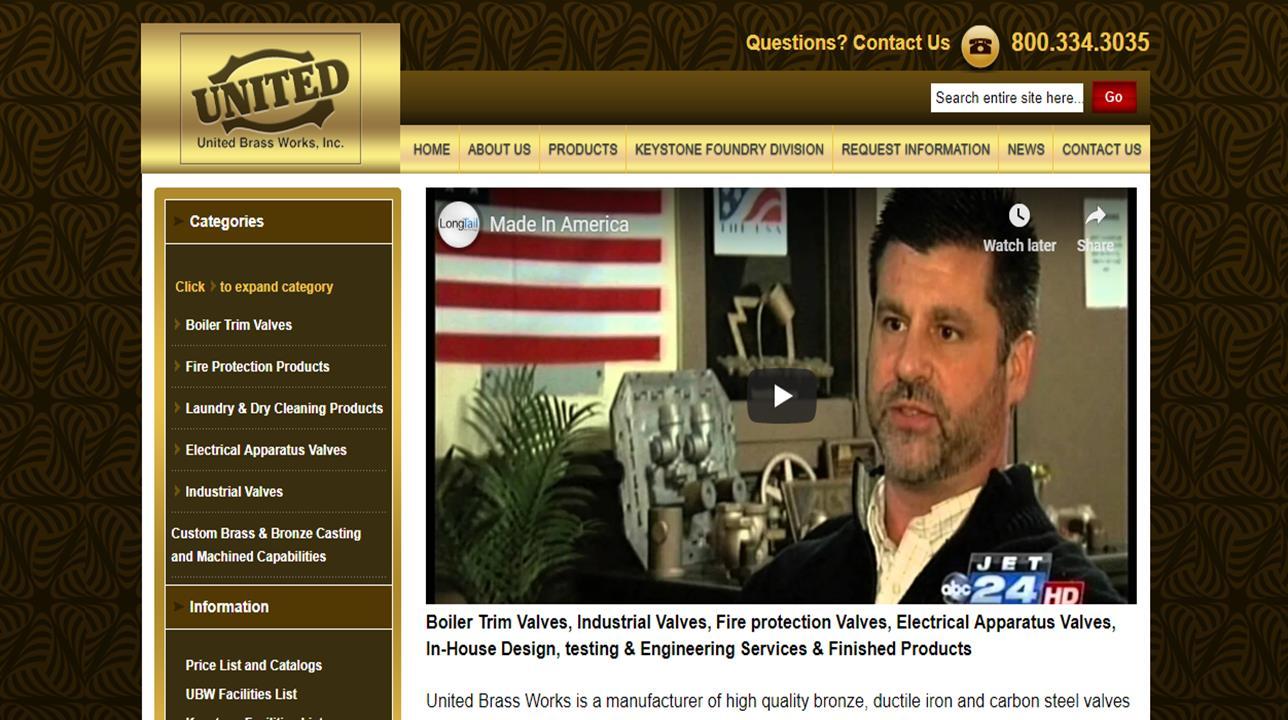 United Brass Works, Inc.