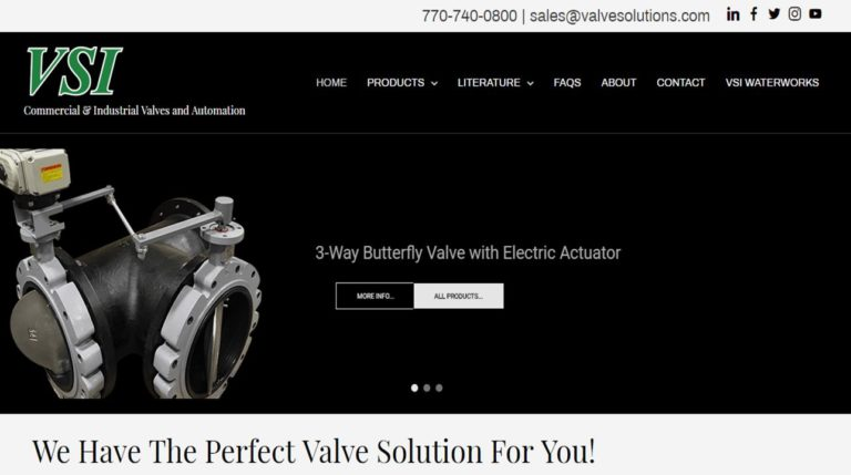 Valve Solutions, Inc.