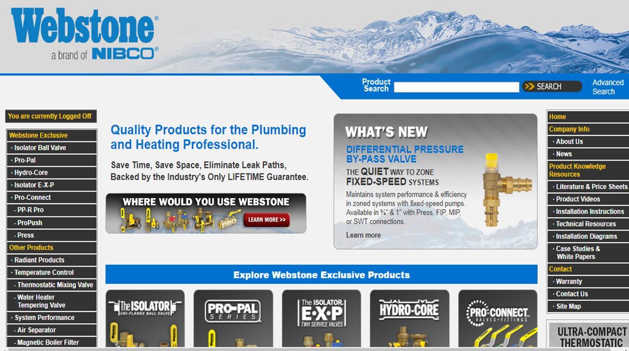 Webstone Company, Inc.