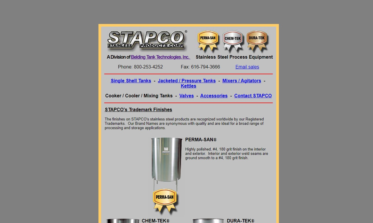 STAPCO Stainless Products Corporation